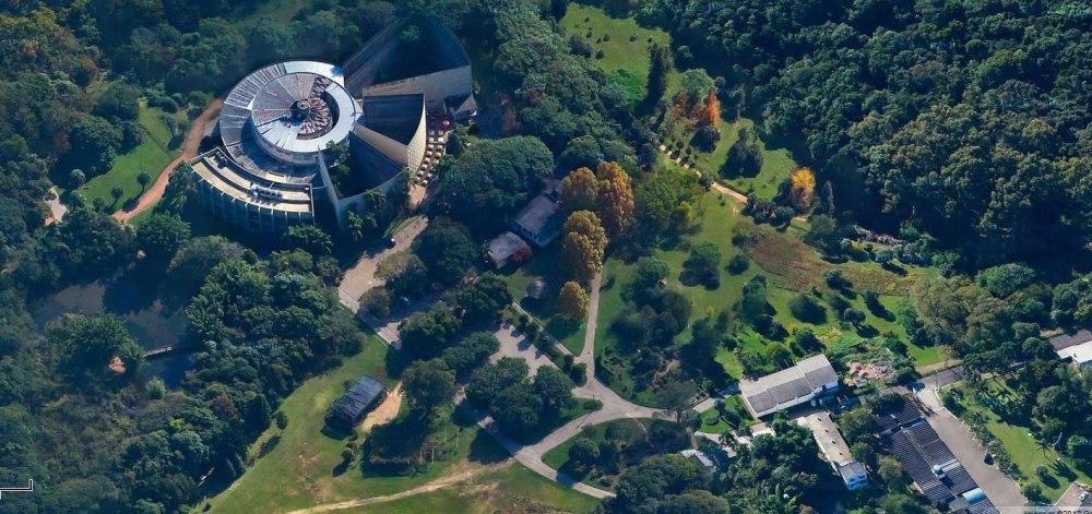 Vista Aérea do Jardim Botânico de Porto Alegre (imagem Google Maps)